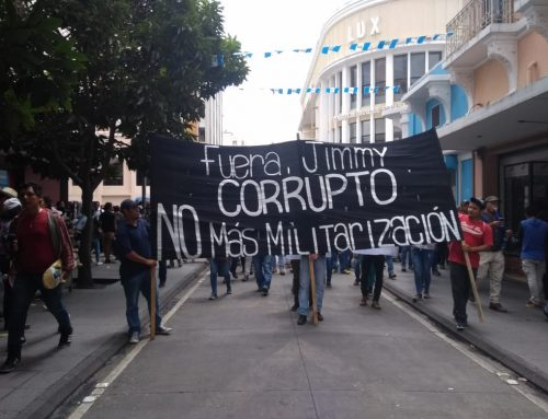 Take Action: BTS Solidarity Actions Amid Constitutional Crisis in Guatemala