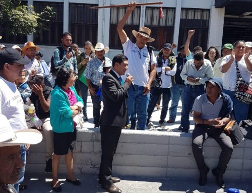 Organizations denounce death threats against lawyer representing Xinka Parliament in consultation over Escobal mine