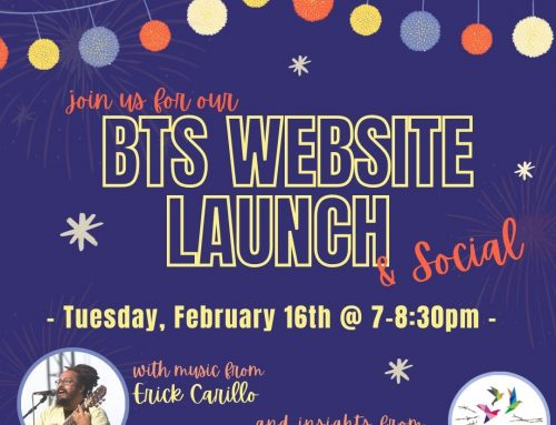 BTS Website Launch & Social