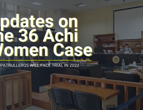 Justice for the 36 Maya Achi Women: 4 Ex-Patrulleros will face trial in 2022