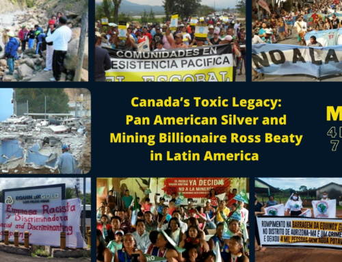 """Community and environmental concerns not """"pertinent"""" to Pan American Silver's business"""