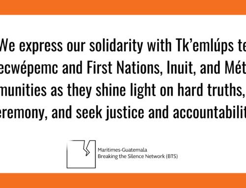 Solidarity with Tk'emlúps te Secwépemc