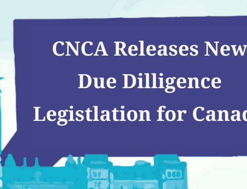 CNCA Human Rights and Environmental Due Diligence Legislation in Canada